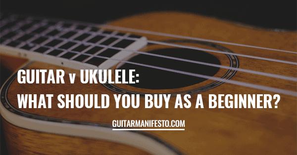 Guitar v Ukulele